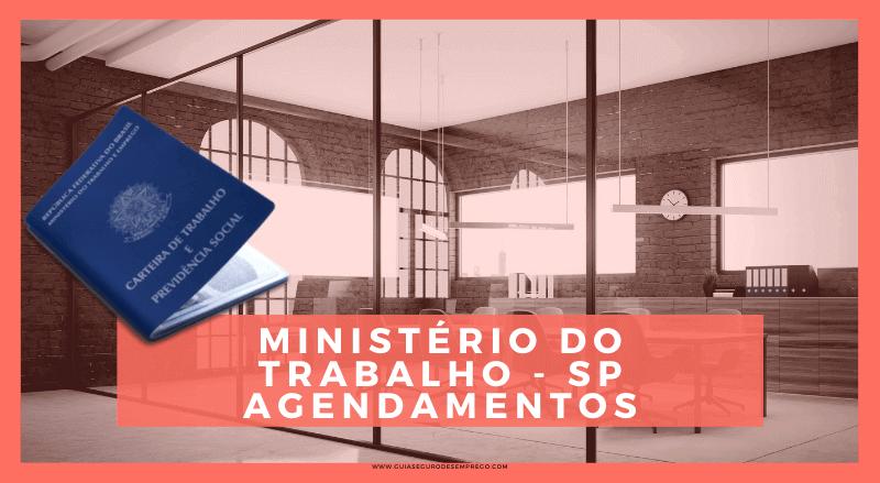 Agendamento no Ministério do Trabalho SP